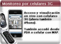 iphone 3g monitoreo inalambrico celular